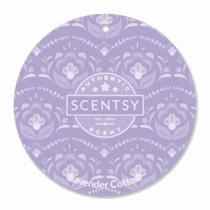 LAVENDER COTTON SCENTSY SCENT CIRCLE