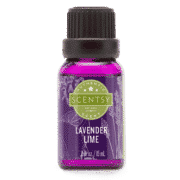 LAVENDER LIME SCENTSY NATURAL OIL BLEND