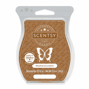 WEATHERED LEATHER SCENTSY BAR