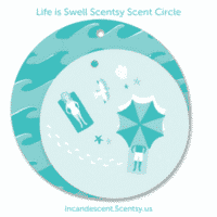 LIFE IS SWELL SCENTSY SCENT CIRCLE