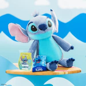 LILO AND STITCH - STITCH SCENTSY BUDDY AND EXPERIMENT 626 BAR