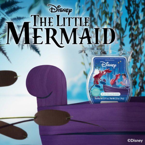LITTLE MERMAID KISS THE GIRL SCENTSY BAR | NEW! THE LITTLE MERMAID KISS THE GIRL SCENTSY BAR