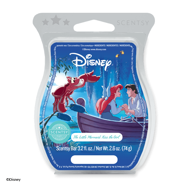 LITTLE MERMAID KISS THE GIRL SCENTSY BAR