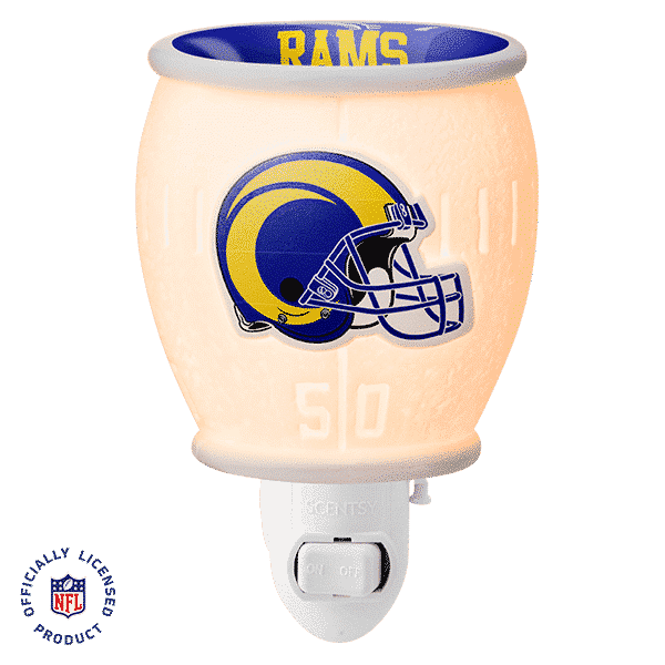 LOS ANGELES RAMS MINI SCENTSY WARMER 1