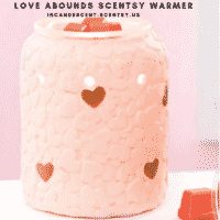 LOVE ABOUNDS SCENTSY WARMER