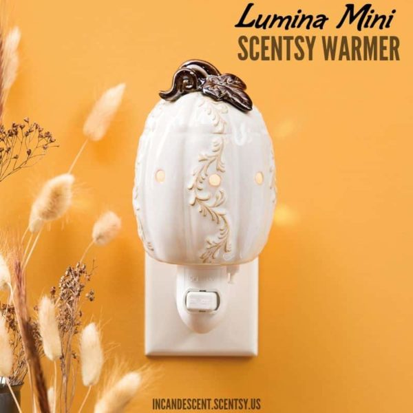 LUMINA MINI SCENTSY WARMER-min | LUMINA MINI SCENTSY WARMER | HARVEST 2019 | Shop Scentsy | Incandescent.Scentsy.us