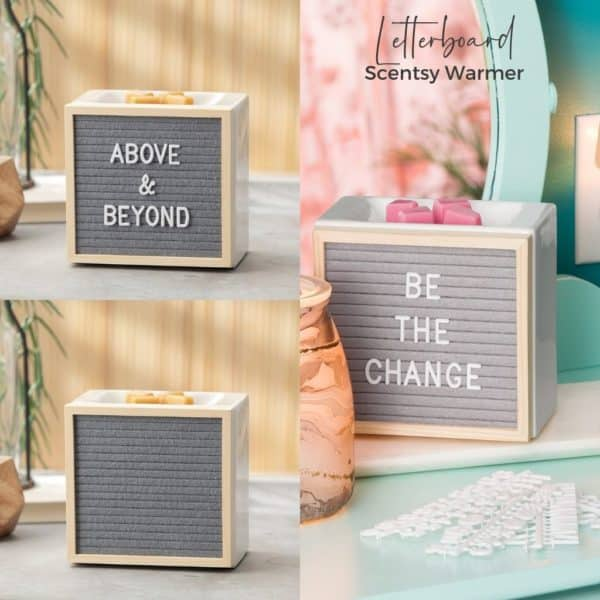 Letterboard Scentsy Warmer | Letterboard Scentsy Warmer | Incandescent.Scentsy.us