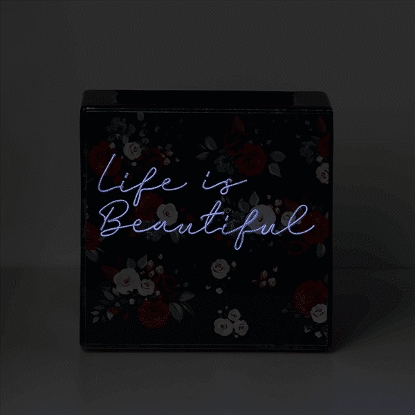 Life is Beautiful ScentsY Warmer Neon Glow | NEW! Life is Beautiful Scentsy Warmer | April 2021 | Incandescent.Scentsy.us