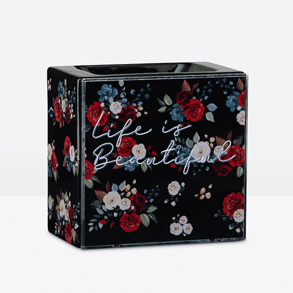 Life is Beautiful Scentsy Warmer No glow | NEW! Life is Beautiful Scentsy Warmer | April 2021 | Incandescent.Scentsy.us