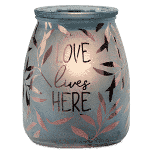 Love Lives Here Scentsy Warmer6