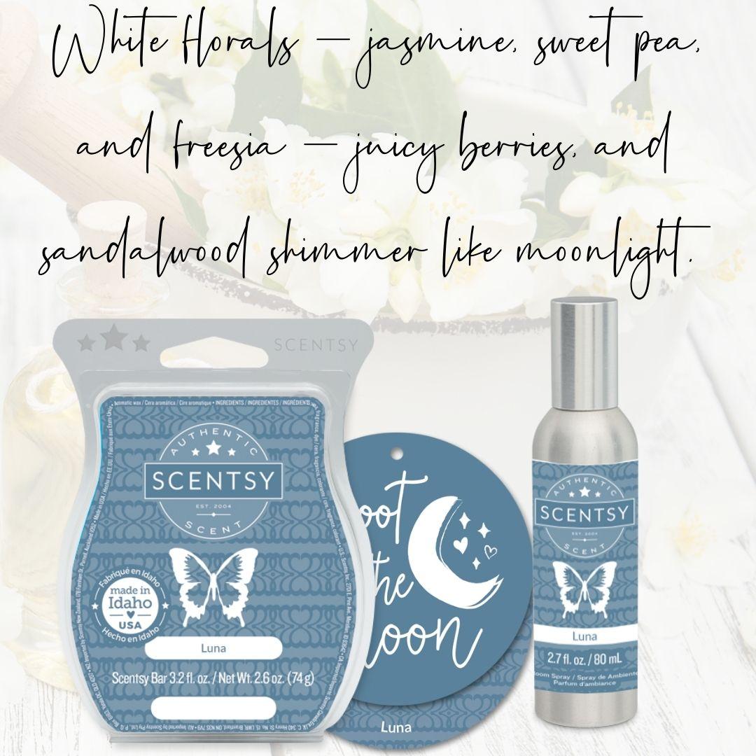 Luna Scentsy Fragrance | NEW! LUNA SCENTSY GO POD BEADS | SCENTSY GO