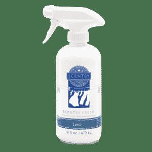 Luna Scentsy Fresh Linen Spray