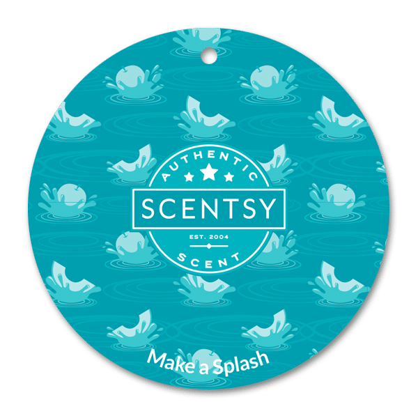 MAKE A SPLASH SCENTSY SCENT CIRCLE