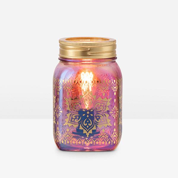 MANDALA MASON JAR SCENTSY WARMER SUMMER 2021   NEW! Mandala Mason Jar Scentsy Warmer   Summer 2021   Incandescent.Scentsy.us