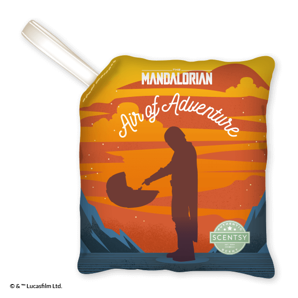 MANDALORAN AIR OF ADVENTURE SCENTSY SCENT PAK