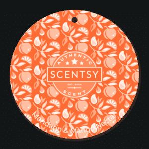 MANDARIN MANGO NECTAR SCENTSY SCENT CIRCLE | Mandarin & Mango Nectar Scentsy Scent Circle | Summer 2021