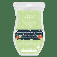 MARSHMALLOW MINT COCOA SCENTSY BRICK