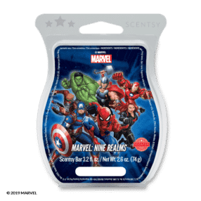 MARVEL NINE REALMS SCENTSY BAR