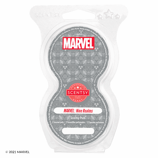 Marvel Nine Realms Scentsy Pods | Scentsy Marvel Collection
