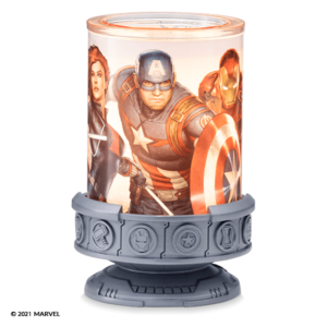 MARVEL SCENTSY WARMER NEW