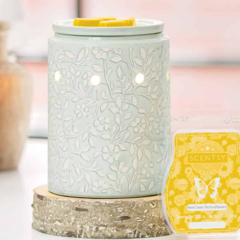 New Meet In The Meadow Scentsy Warmer Scentsy 174 Online