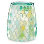 MERMAID GLASS SCENTSY WARMER