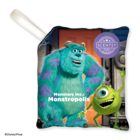 MONSTERS INC MONSTROPOLIS SCENTSY PAK