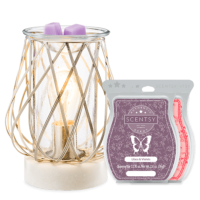 DIAMOND WEAVE SCENTSY WARMER BUNDLE