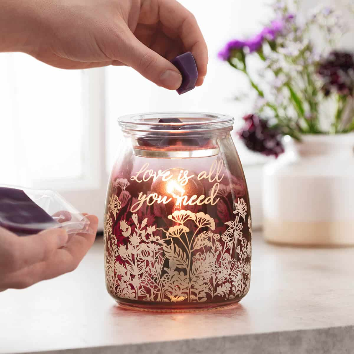 LOVE IS ALL YOU NEED SCENTSY WARMER