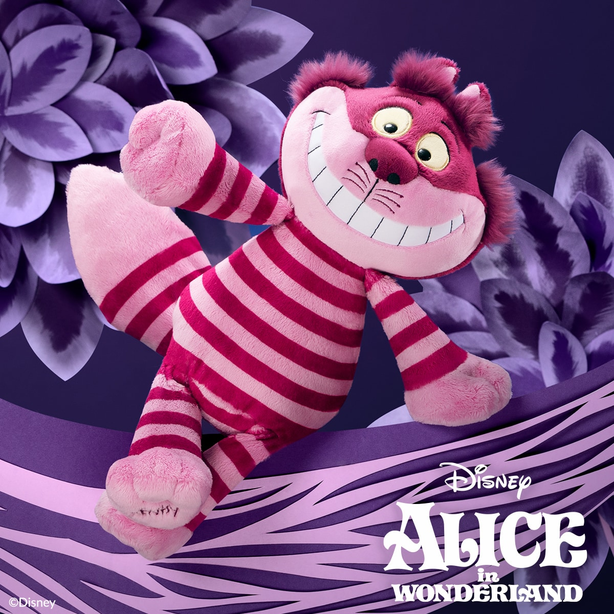CHESHIRE CAT SCENTSY BUDDY WE'RE ALL MAD HERE SCENTSY SCENT PAK ALICE IN WONDERLAND