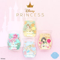 SCENTSY DISNEY PRINCESS COLLECTION MULAN, BELLE, ARIEL, CINDERELLA