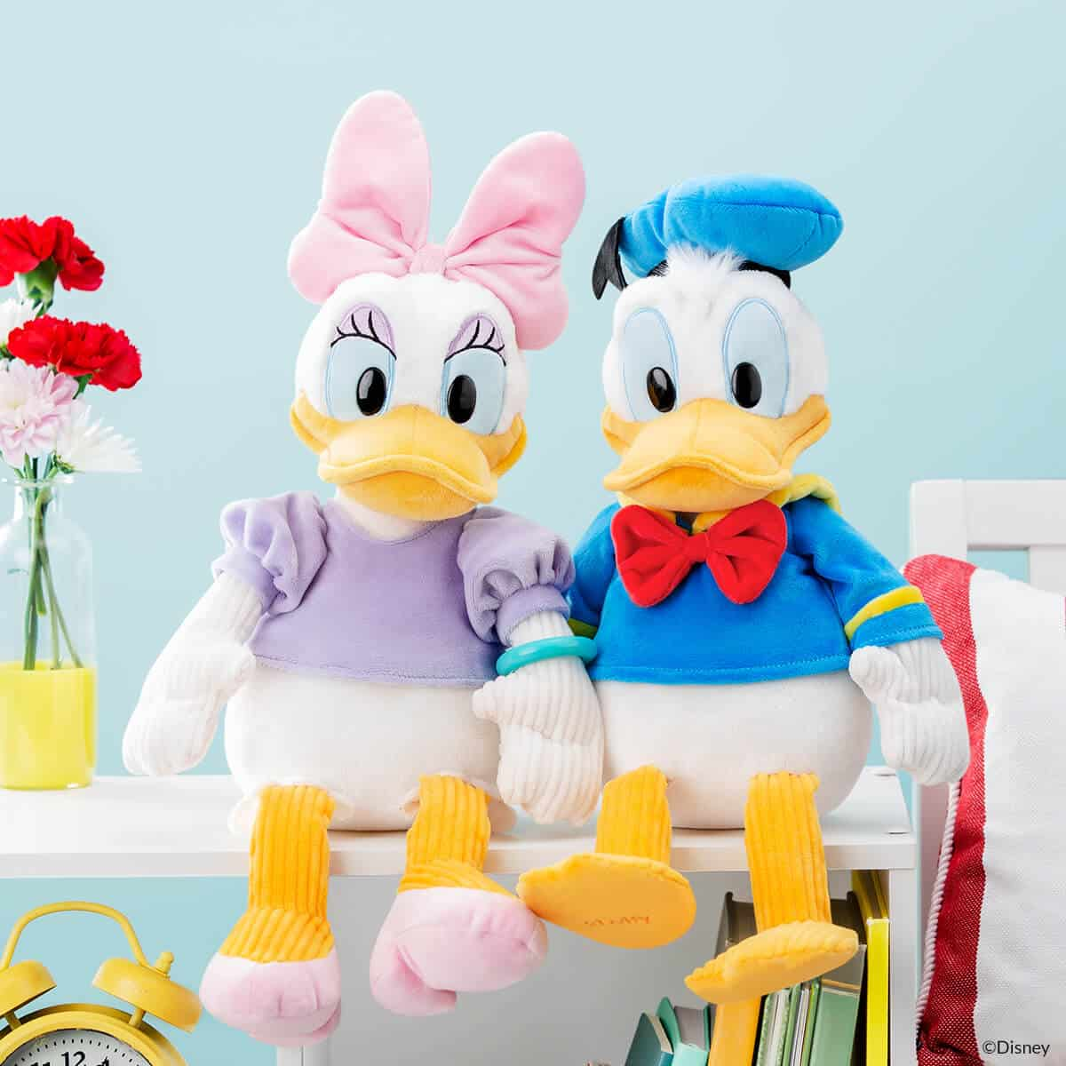 DONALD DUCK AND DAISY DUCK SCENTSY BUDDIES