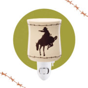 BUCKAROO MINI SCENTSY WARMER