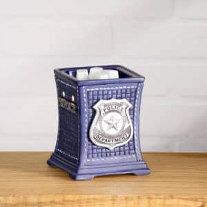 PROTECT & SERVE POLICE DEPARTMENT SCENTSY WARMER | NEW! SCENTSY HOMETOWN HEROES COLLECTION | POLICE & FIREFIGHTER WARMERS & BUDDIES | Scentsy® Online Store | Scentsy Warmers & Scents | Incandescent.Scentsy.us