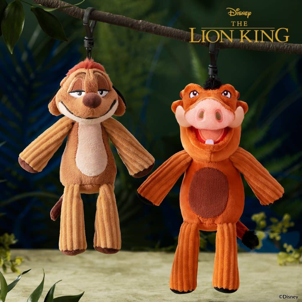 TIMON & PUMBAA SCENTSY BUDDY CLIPS