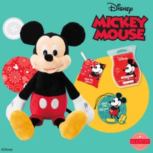 MICKEY MOUSE - SCENTSY BUDDY , YOUR PAL MICKEY - SCENTSY FRAGRANCE