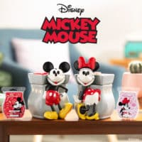 MICKEY & MINNIE MOUSE SCENSTY WARMERS
