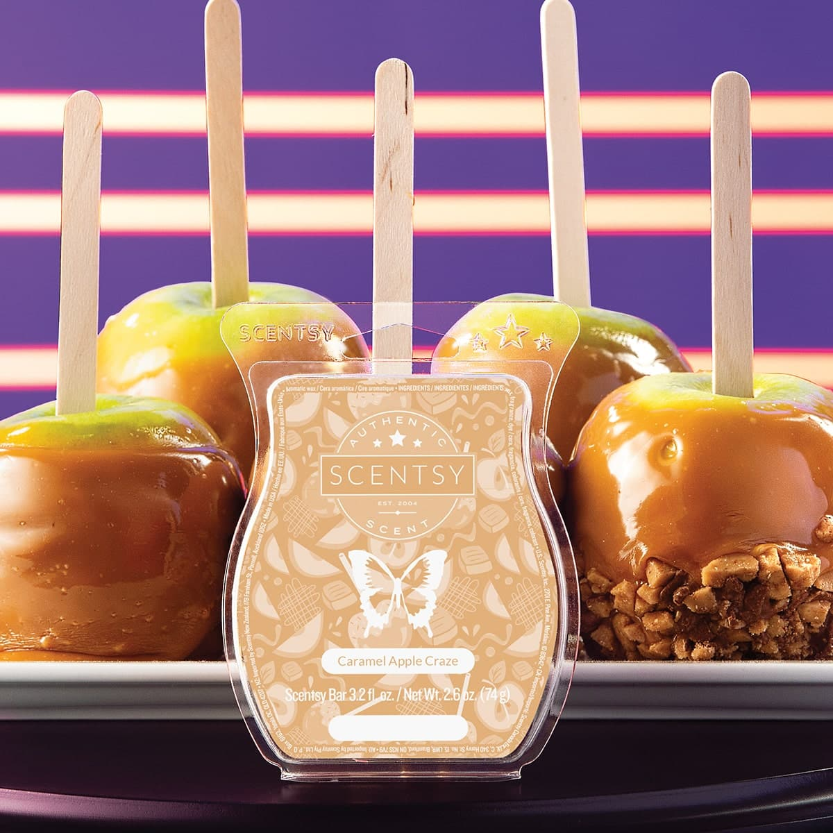 SCENTSY CARAMEL APPLE CRAZE BAR