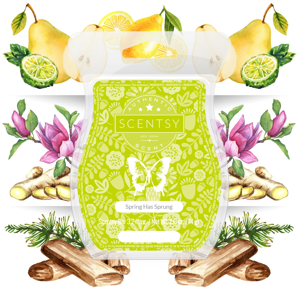 SPRING HAS SPRUNG SCENTSY FRAGRANCE