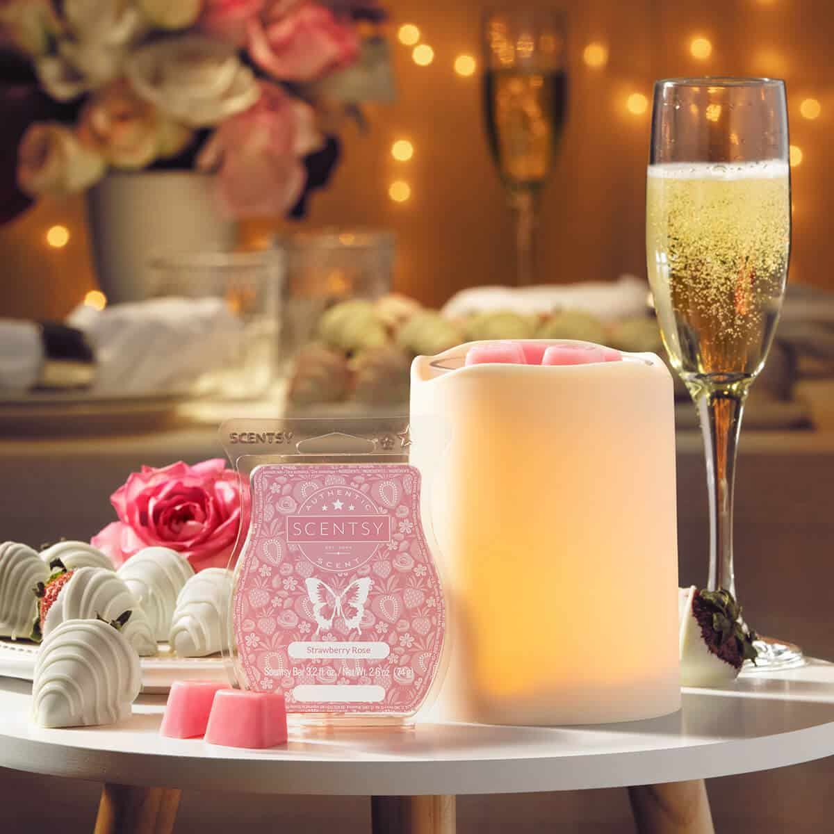 BY THE CANDLELIGHT SCENTSY WARMER