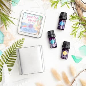 DESERTED ISLAND SCENTSY OILS 3 PACK