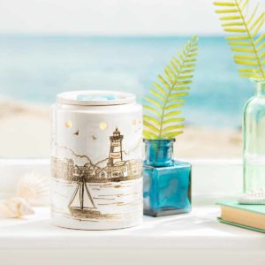 IN THE HARBOR SCENTSY WARMER LIGHTHOUSE