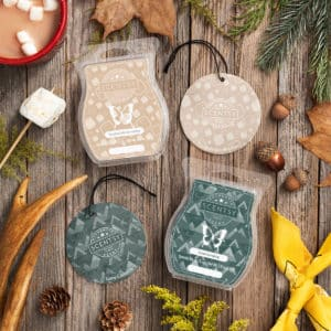 GONE CAMPING & TOASTED MARSHMALLOW SCENTSY BARS & SCENT CIRCLES