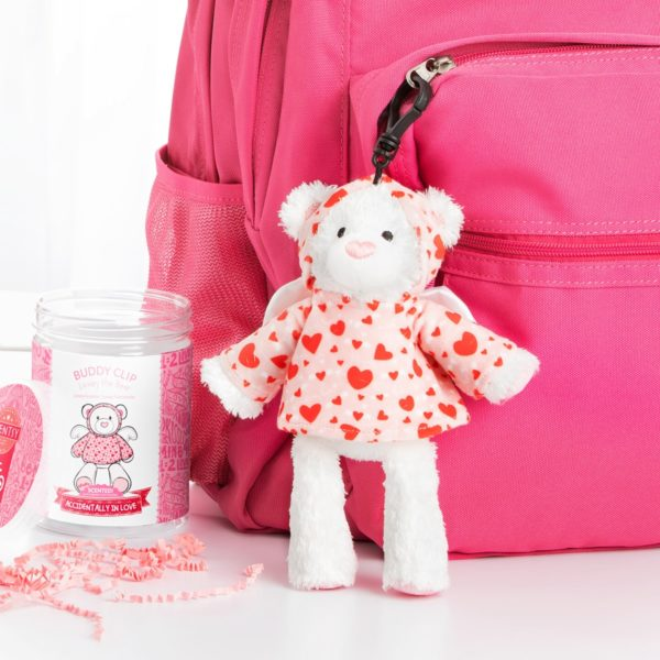 Lovey the Bear Scentsy Buddy Clip