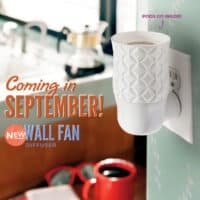 NEW SCENTSY WALL FAN DIFFUSER FALL 2019