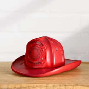 FIRST IN LAST OUT SCENTSY WARMER FIREFIGHTER HAT