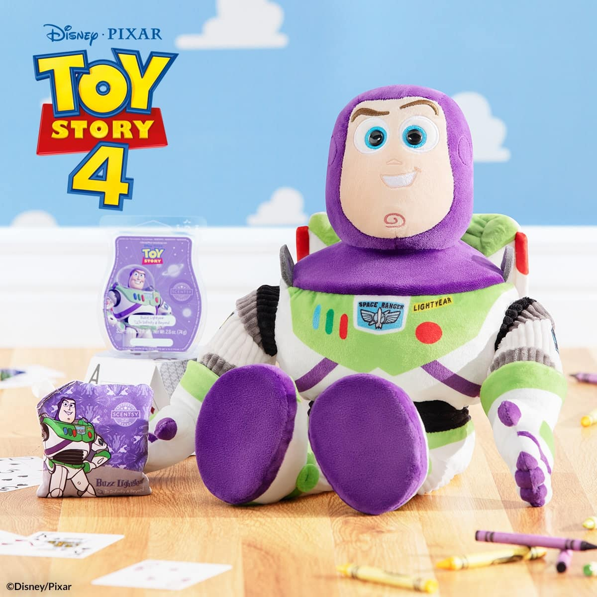 BUZZ LIGHTYEAR SCENTSY TOY STORY