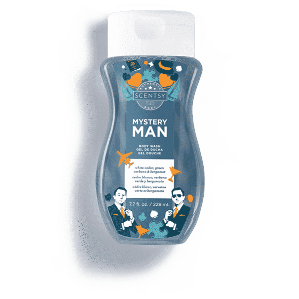 NEW! MYSTERY MAN SCENTSY BODY WASH | Shop Scentsy | Incandescent.Scentsy.us