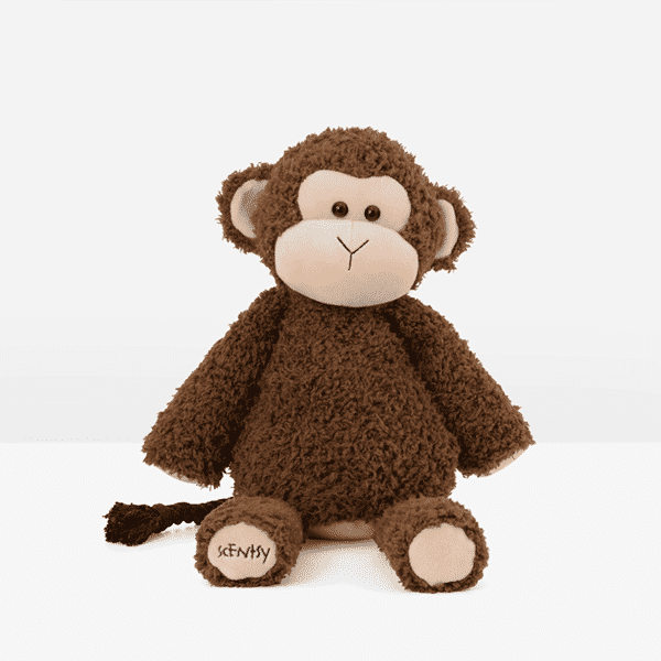 Maddox the Monkey Scentsy Buddy Front