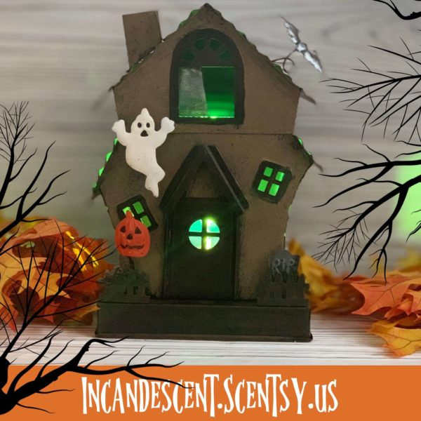 MANIC MANSION SCENTSY WARMER INCANDESCENT | MANIC MANSION HAUNTED HOUSE SCENTSY WARMER | Shop Scentsy | Incandescent.Scentsy.us